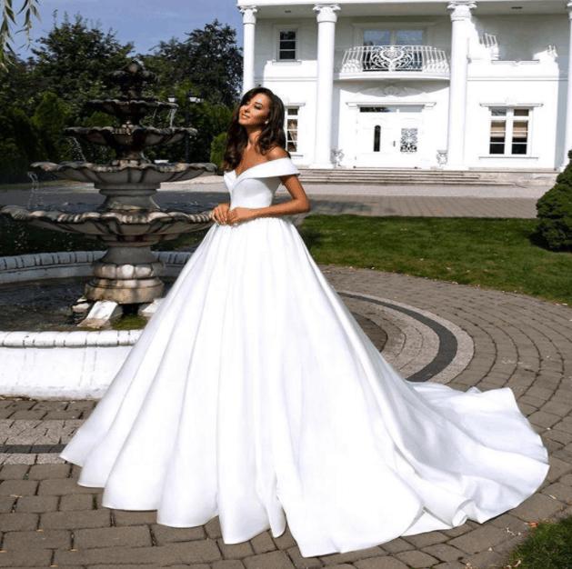 wedding gown cheap on aliexpress
