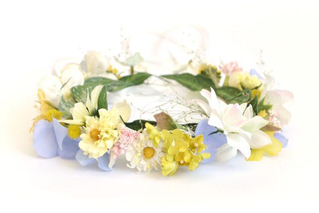 Wianek na ślub Złotko Ptaszarnia