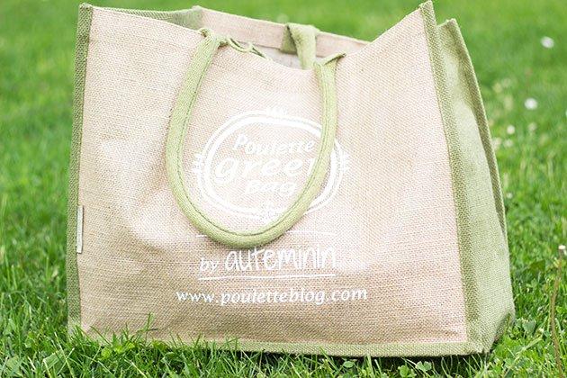 Poulette Bag Green Party