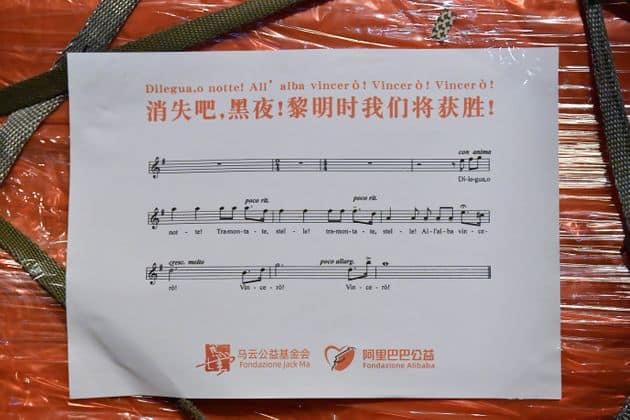 coronavirus alibaba donate dai cinesi