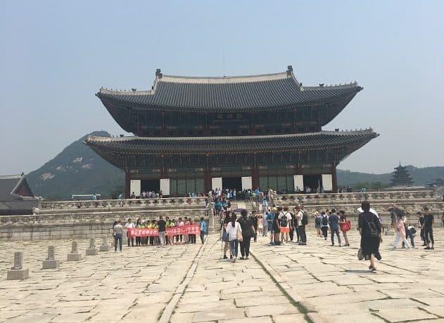PRworks tour at Gyeongbokgung Palace