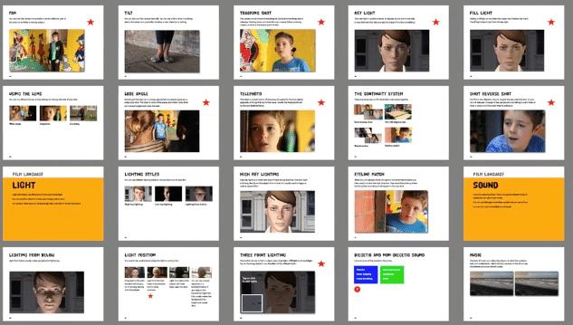 Screenshots from Making Movies Make Sense