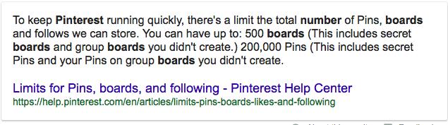 Maximum pins + boards