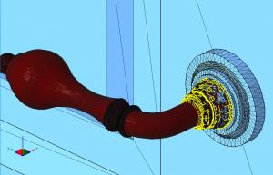 3D модель с разорваными гранями и инвертированными полигонами