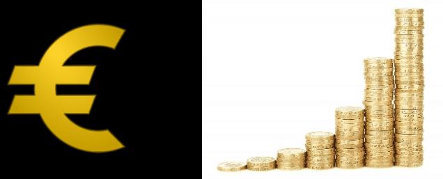 Deux symboles pour exprimer la notion d'argent