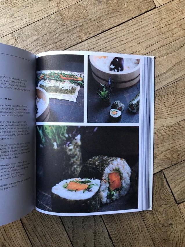 Photos des recettes de Japonismes