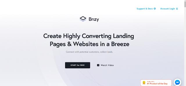 Brizy Best Landing Page Builders