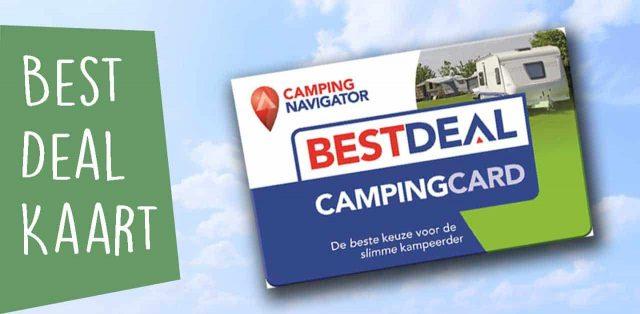 CAMPINGGIDSEN HANDIGE KAMPEERSPULLEN  Welke kampeer kortingskaart levert het meeste op?