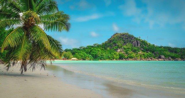 Türkises Wasser auf den Seychellen