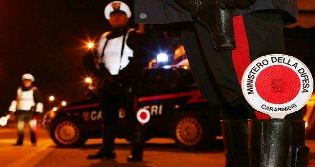 carabinieri posto blocco