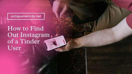 Instagram of Tinder User