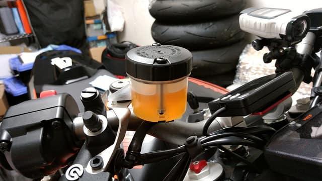 new brake fluid