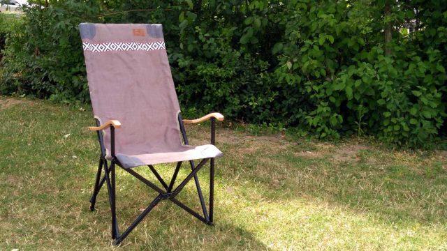 HANDIGE KAMPEERSPULLEN KAMPEERMEUBELEN  Review: Bo-camp Urban Outdoor Camden stoel, hippe relaxstoel voor strand en camping