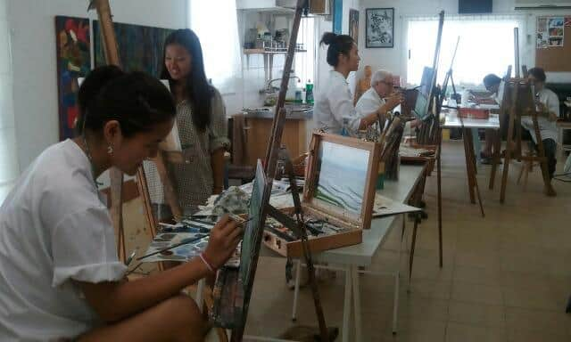 Painting Classes at 4 PINTORS Barcelona