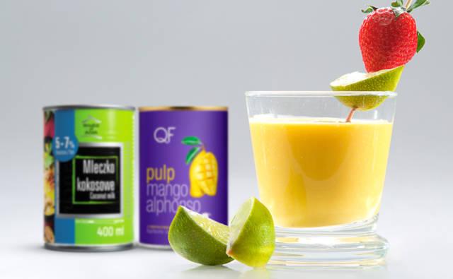 Smoothie z mango i mleczkiem kokosowym House of Asia
