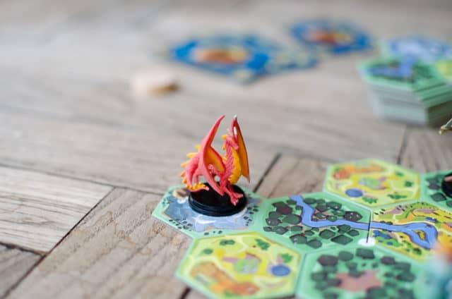 Dragon du jeu Fairy Tile