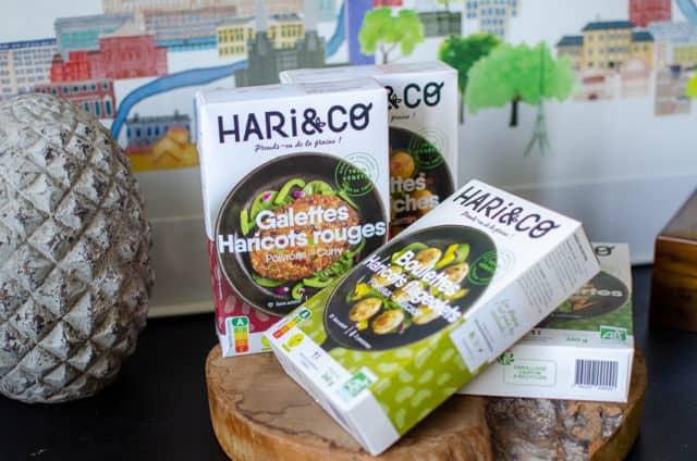 Gamme surgelée Hari & Co