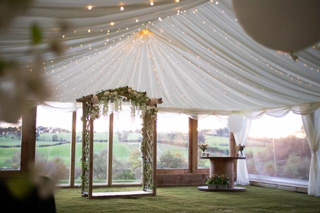 eden leisure village wedding venue cumbernauld