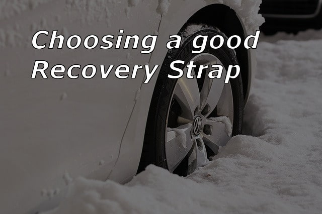 choose a good recovery strap update