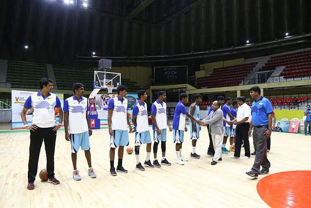 El Sree Kanteerava también albergó el Mulki Sunder Ram Shetty All India Basketball Tournament en febrero.