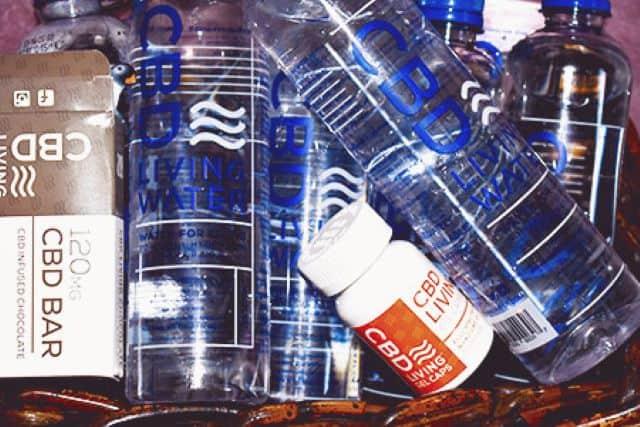 CBD Living CBD Water review
