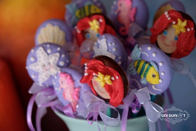 Little Mermaid Pops