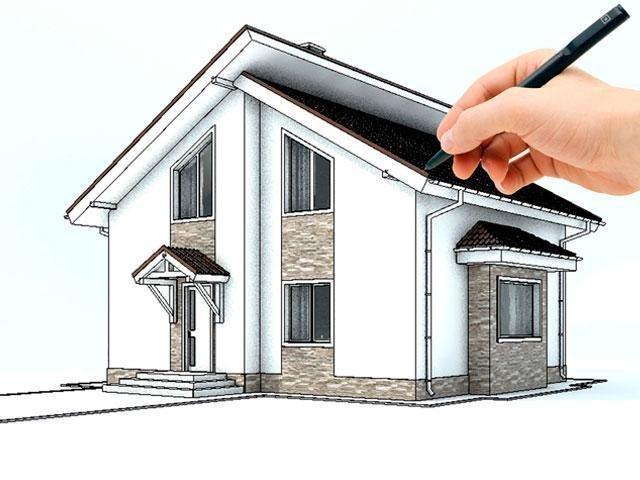 Проект дома по индивидуальному заказу