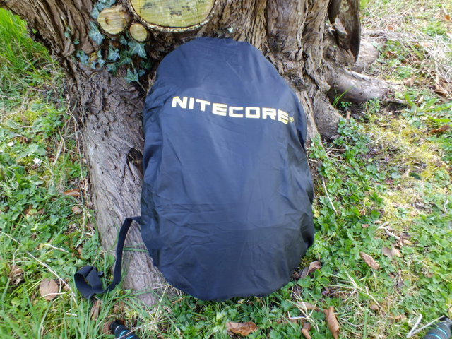The rain cover that comes with the BP20