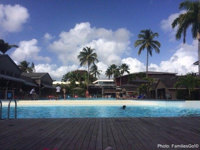 Guadeloupe has small resorts