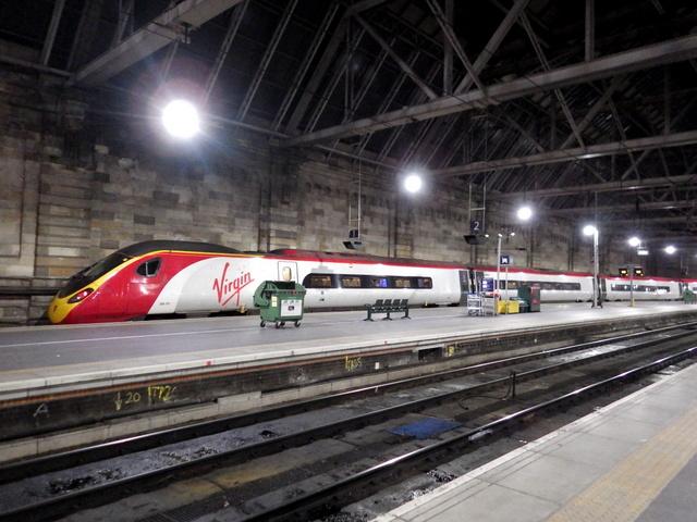 nové i staré, takové jsou vlaky ve Skotsku
