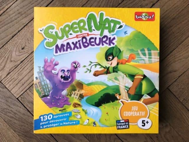Super Nat contre Maxi Beurk