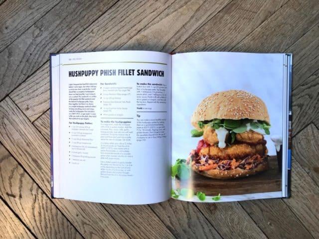 Recette de burger vegan du livre Epic Vegan
