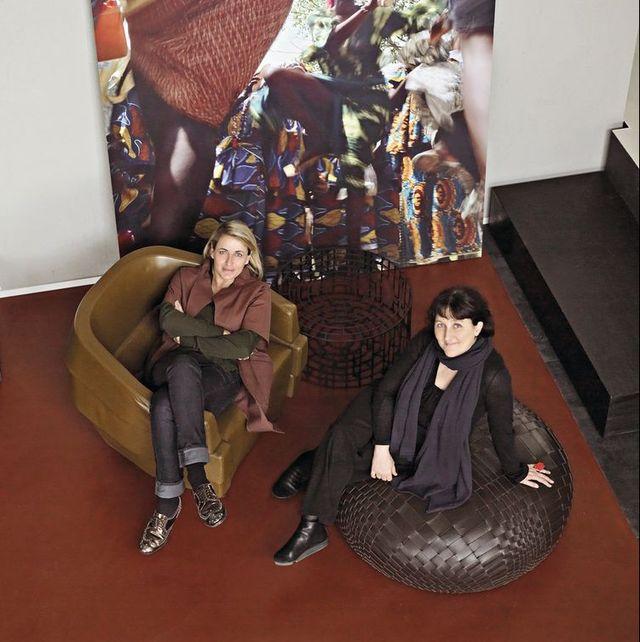 Patricia Urquiola i Patrizia Moroso | © Max Zambelli