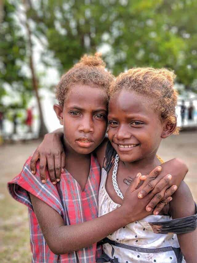Friends - Children of the Solomon Islands