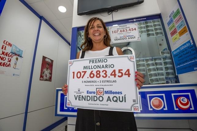 gérante du point de vente Dulcina de Oro à Ciudad Real