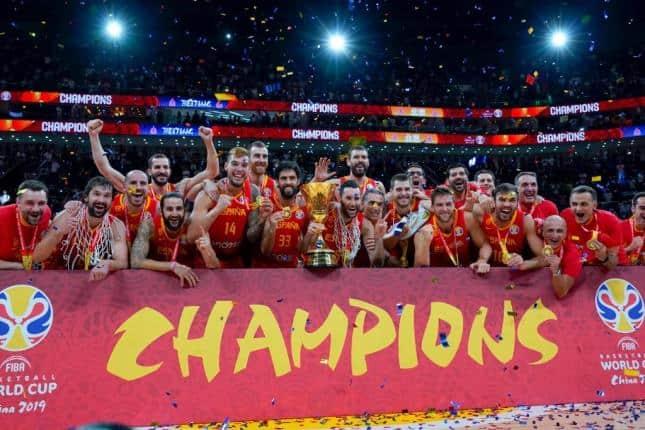 España Campeón del mundo 2019