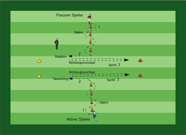 Koordination Sprint Fußball Übungen für dein Fußballtraining - Methodische Reihe: Koordination, Sprint, Aktions- und Bewegungsschnelligkeit mit/ohne Ball, Torschuss