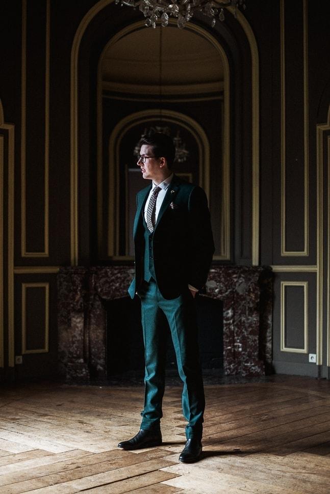 mariage Lille - château de bourgogne Estaimpuis - Maxime Decarsin