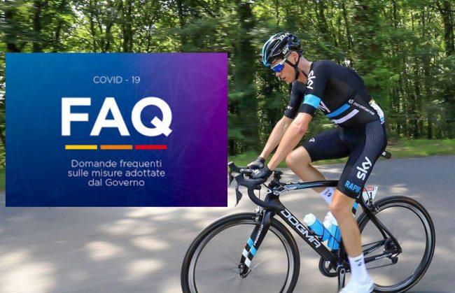 Dpcm Natale e attività sportiva: il governo risponde definitivamente a ciclisti e running