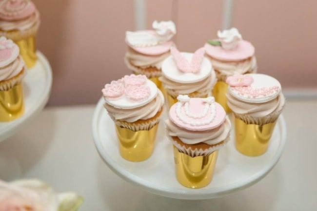 Garden Baby Shower Cupcakes