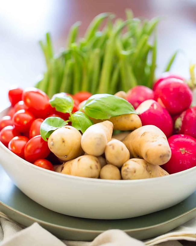 Healthy Potato Salad Ingredients