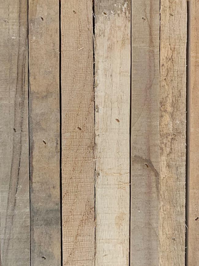pallet wood letter steps with pallet wood