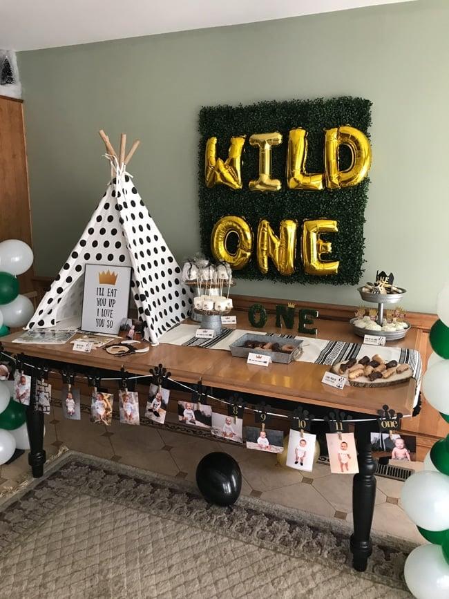 Wild One 1st Birthday Dessert Table - Wild One Birthday