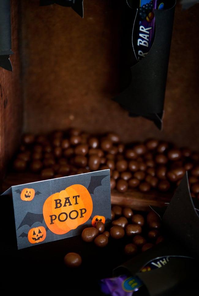 Bat Poop Candy - Halloween Snacks