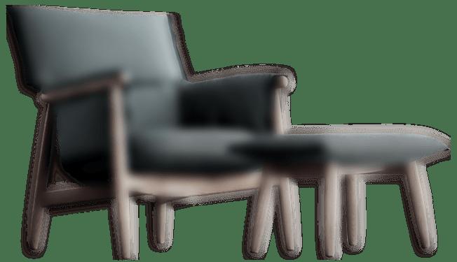 dark slider 2 chair