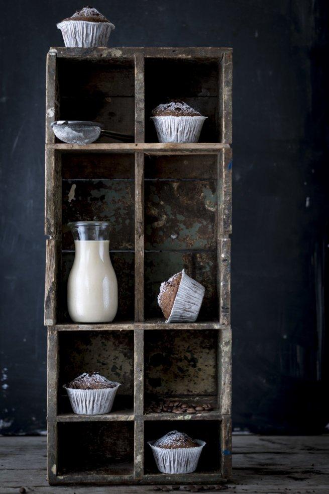 Café au Lait Muffins