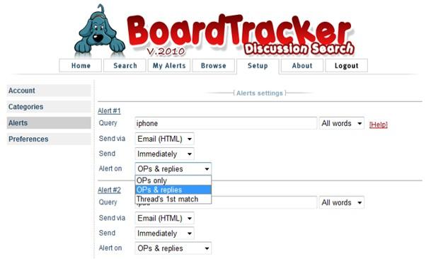 boardtracker discussion search