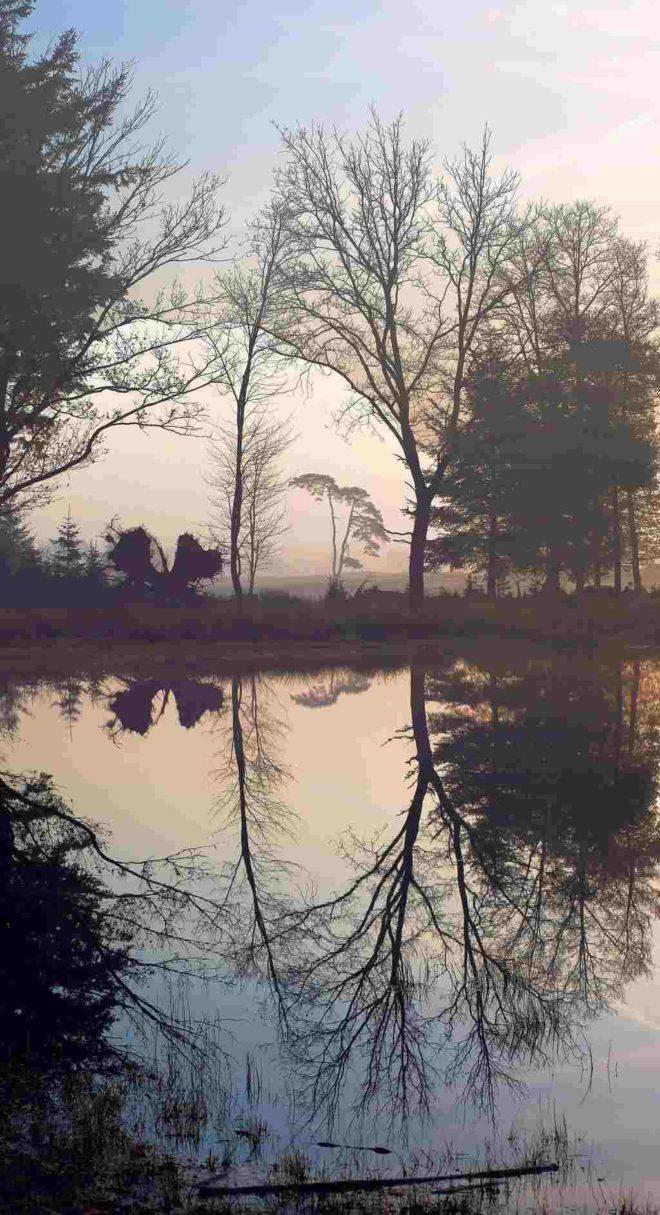 Spiegelend water - Fotograaf Hielke Roelevink