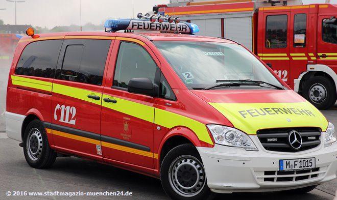 Einsatzleitwagen Berufsfeuerwehr München