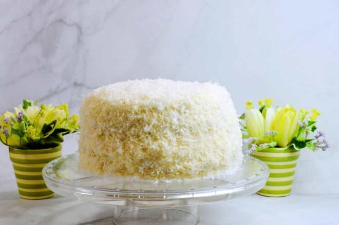 Coconut Cake Recipe - A gorgeous Spring cake